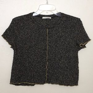 Zara Trafaluc Knit Crop Top Size Small